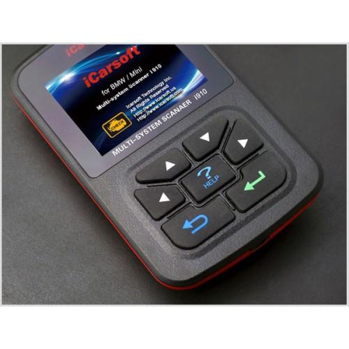iCarsoft Multi-system Scanner & Oil Reset i910-II for BMW/Mini